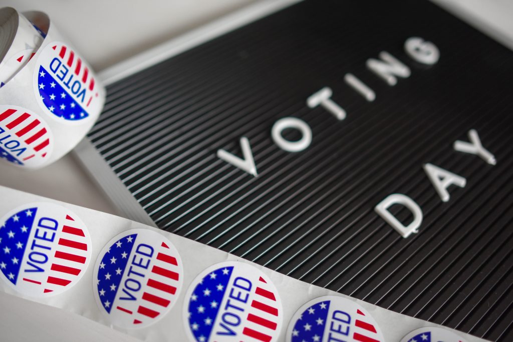 Voting Day in the U.S.